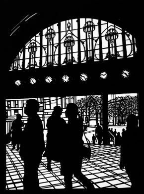 Flinders Street Station by Roma McLaughlin