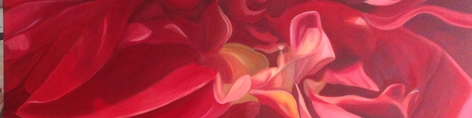 Floral painting by Shona Jones