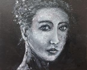 WomanFlowersHair1