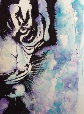 Tiger watercolour_2016