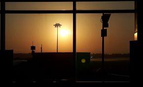 Charle DeGaulle Sunset