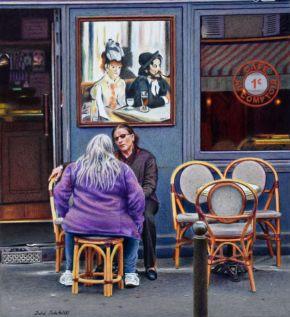 Café des Arts by Julie Podstolski