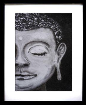 Buddha framed