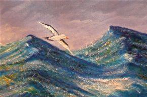 Wandering Albatross by Marijke Gilchrist