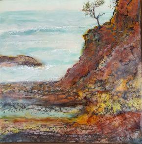 Coastline - III by Marijke Gilchrist