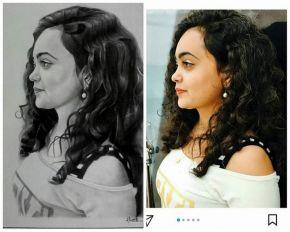 portrait artist delhi