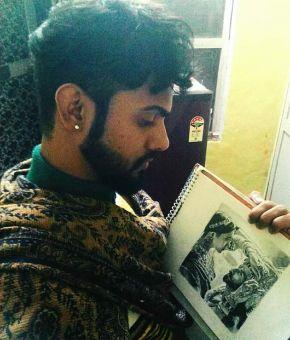 sketch artist harsh kumar
