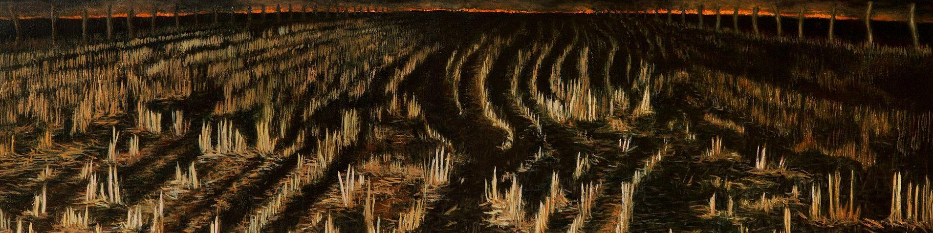 (2013) Night Trails oil on canvas 40x115cm_sm crop