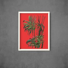 Framed-Art_Patio plants