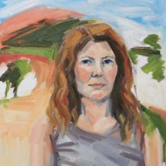 Self Portrait 39 Degrees (Castlemaine), Shelley Hall