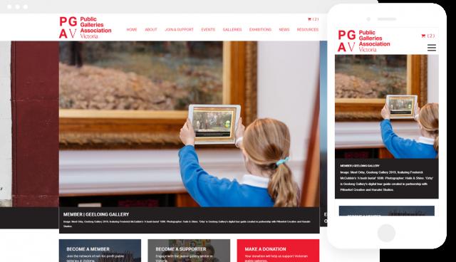 PGAV Public Galleries of Victoria