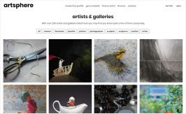 Artist Directory Page