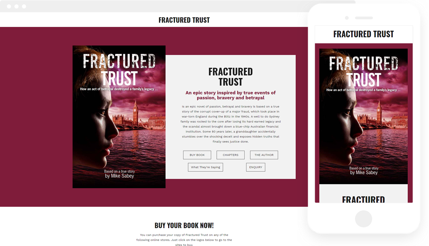 FRACTURED TRUST by Mike Sabey