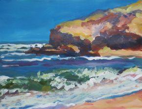 Kathy Fahey Back beach