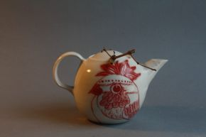 'Pardalote'  Teapot by Adriana Christianson