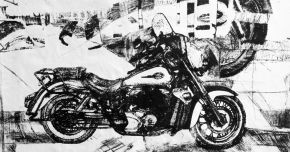 Honda-Printmaking on paper