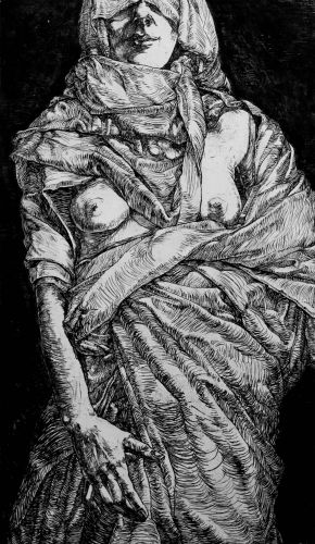 Virginity-3-Etching on paper-60x96cm-2014