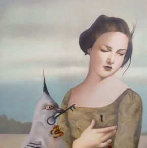Bita Mohabbati-Key-Oil on Canvas-60x60cm-2016-USD700