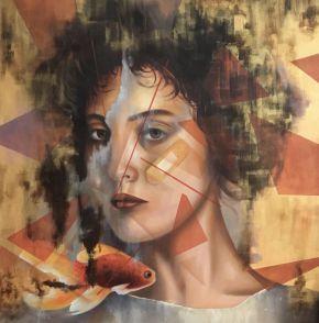 Bita Mohabbati-Truma-Oil on canvas-80x80cm-2013-USD700