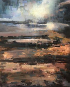 Bita Mohabbati-Untitled-Oil on canvas-80x100cm-2016-USD800