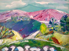 Galina Raspopina-Baikal region-Oil on Canvas-80x60cm-2018-USD1500