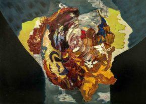 Galina Raspopina-Masks-Oil on Canvas-70x50cm-2013-USD2000