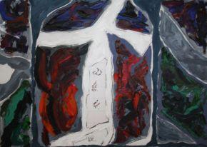 Galina Raspopina-Phenomenon-Oil on Canvas-70x50cm-2014-USD1250