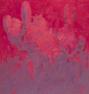 Glib Franco-Cactus-Magenta Dream-Oil on canvas-140x150cm-2015-USD2600