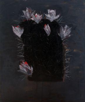 Glib Franco-Flowering1-Oil on canvas-150x180cm-2017-USD3600