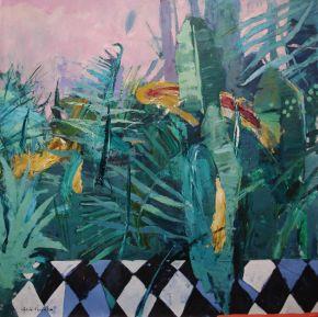 Glib Franco-Wild-Oil on canvas-120x120cm-2020-USD2500