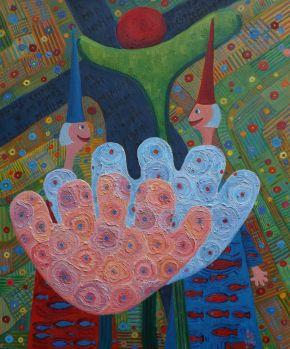 Luana Stebule-Sweeney Erect-Oil on canvas-2019-61x81cm-USD7999