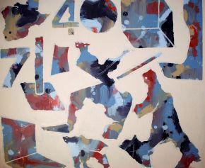 MM-Grounding16-Acrylic on canvas-74x70cm-2019