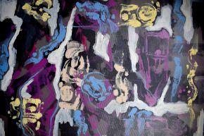 MM-Improvisation24-Acrylic on canvas-105x70cm-2019