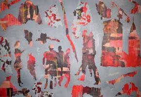 MM-Street-Acrylic on canvas-105x70cm-2019