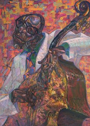 5-ROMAN NOGIN-RON CARTER-Oil Painting on Canvas-85x115-2019-USD5000