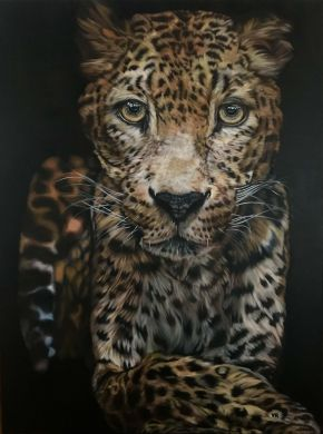 Valentina Andrees-My Leo-Oil on Canvas-120x160cm-2019-USD7200