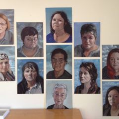 Portraits by Anne Wallace