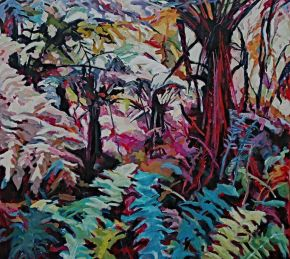 Vibrant Bush Encounter by barbara bateman