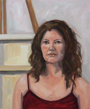 Self Portrait Summer, Shelley Hall