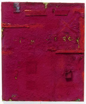 Anna Caione Ombre Terra   2004 Anna Caione  pigment _ mixed media on canvas, 100cmx120cm