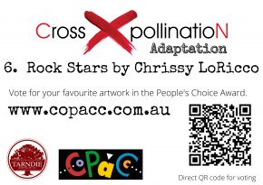 Entry Voting Poster - 6 Rock Stars by Chrissy LoRicco