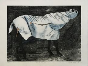 The-Blue-Rug-1995-Etching-Watercolour