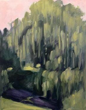 Willow, Merri Creek, Shelley Hall