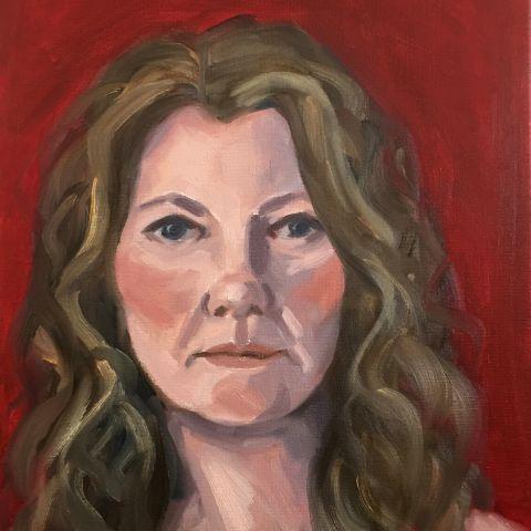 Self Portrait, Brunswick 2019, Shelley Hall