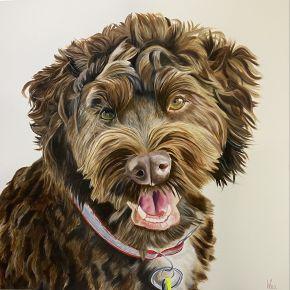 Archie by Woo Art 90x90 oil