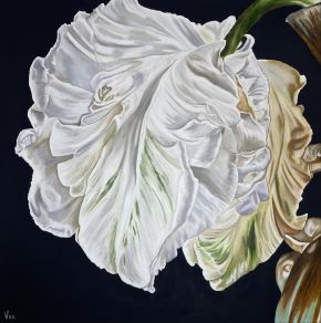 Ephemeral Grace by Woo Art 92x92 oil
