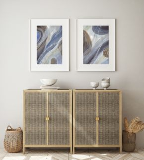 Finding Your Flow and Peaceful Waters in Situ - Modern-abstract-art-Larissa-Nguyen