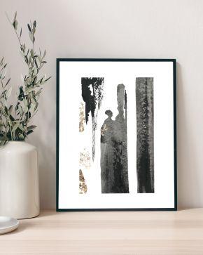 Make Your Mark II - Minimalist-Abstract-Art-Larissa-Nguyen