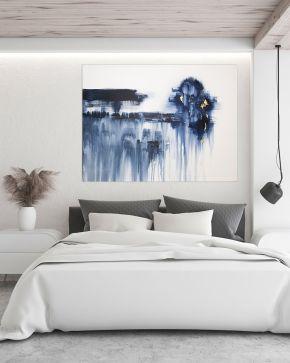 Dreamcatcher in situ - Modern-Abstract-Art-Larissa-Nguyen