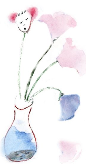 Sweet pea or dirty water 2008 by Ann Shenfield